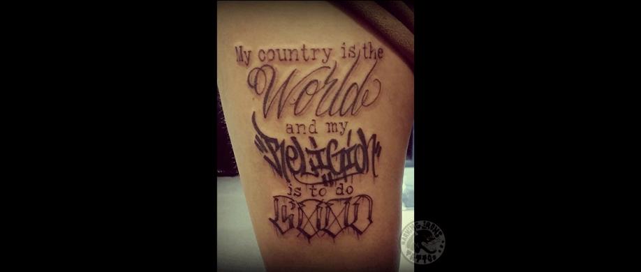 gode tattoo steder i kbh