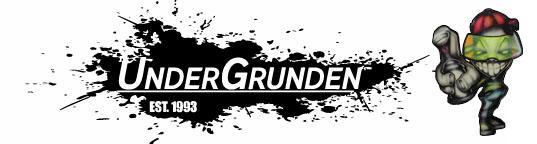 Undergrunden - Danmaks største og ældste graffiti butik, med spraymaling, tuscher og kunstartikler