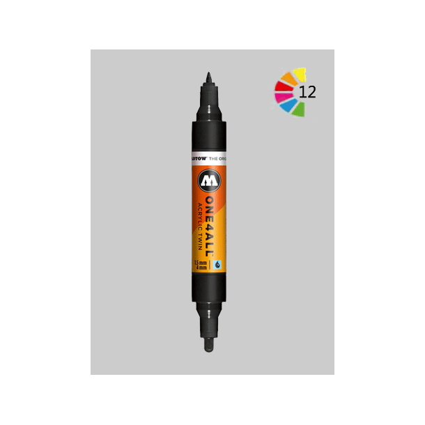 MOLOTOW ONE4ALL ACYLIC TWIN 1,5MM-4MM