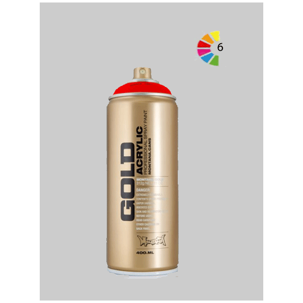 Montana Gold Flour Spraymaling, 400ml