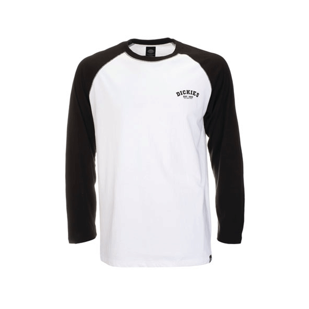 Dickies baseball tee LS Black