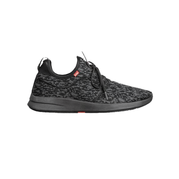 Globe sko - Dart Lyt  Black/Grey Knit