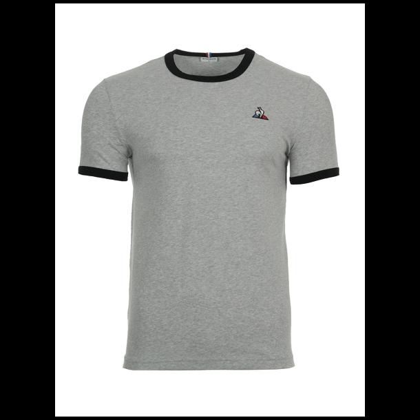 Le coq sportif  t-shirt - SS N4 M gris chi