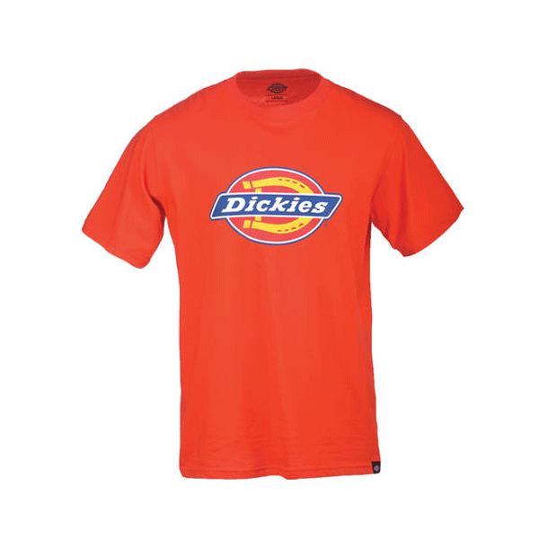 Dickies Logo T-shirt - Horsesshoe Orange