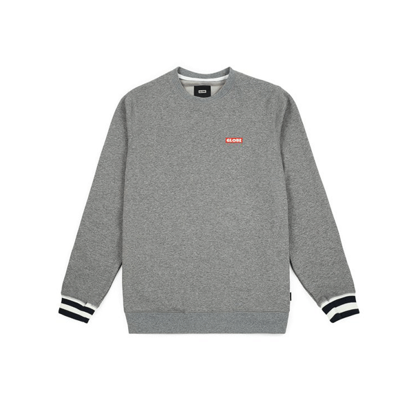 Globe Sweatshirt - Majestic Grey