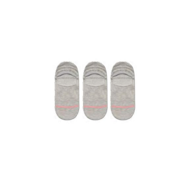 STANCE SOCKS UNCOMMON SOLIDS ICON 3 PACK Grey Heather