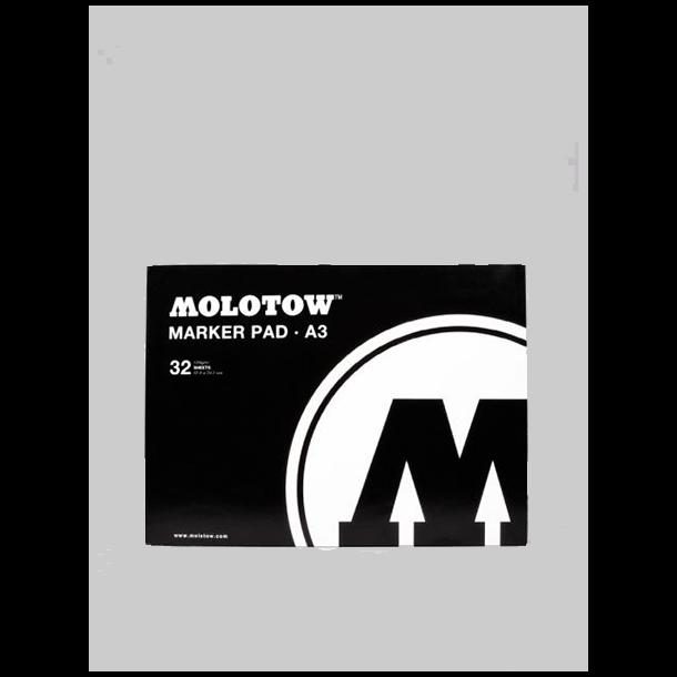 Molotow a3 marker pad