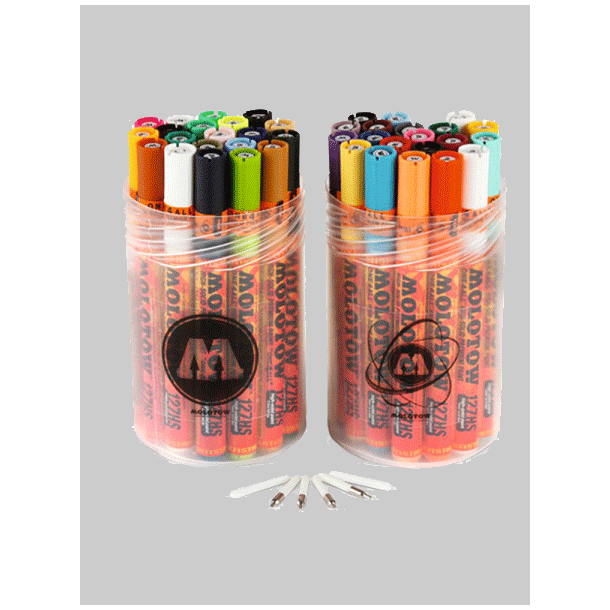 MOLOTOW ONE4ALL 2MM COMPLETE KIT