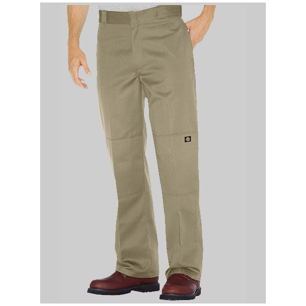 DICKIES DOUBLE KNEE BUKSER KHAKI (LOOSE FIT)