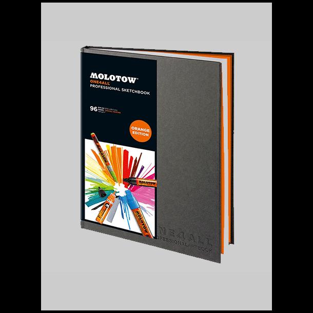 Molotow one4all Pro. sketcbook A4 Orange Editon