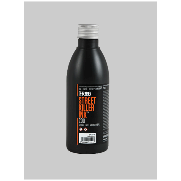 Grog Streetkiller Ink 200ml - Sort