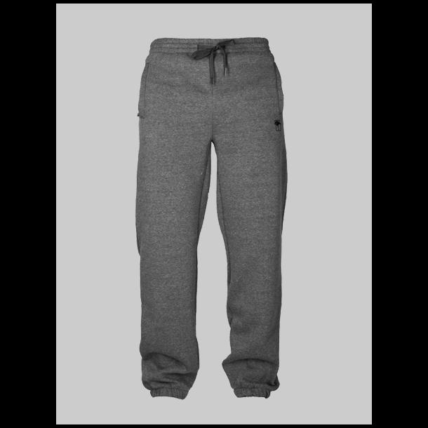 MAHAGONY SWEAT PANTS BRUSH CHARCOAL/SORT