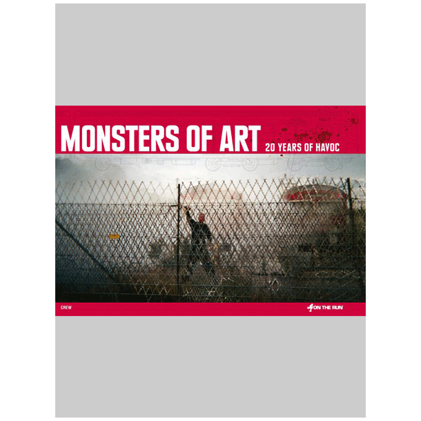 Monsters of art softcover otr books