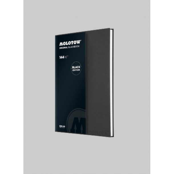 Molotow org. blackbook A4 portrait Black edition