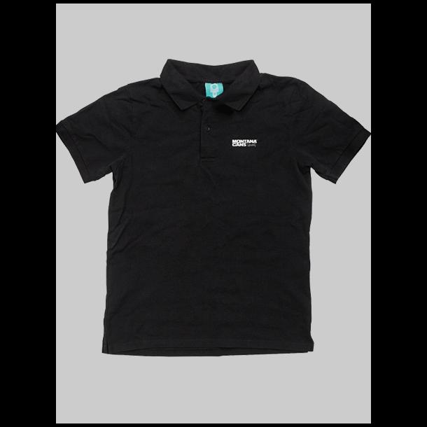 Montana polo shirt sort