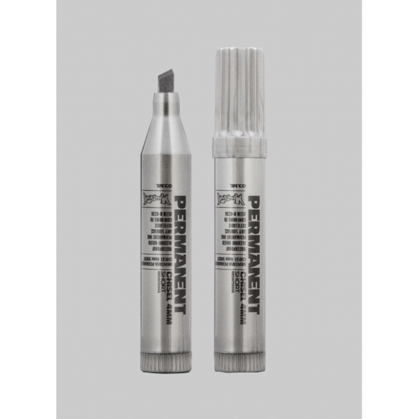Montana permanent short Marker - 4mm chisel