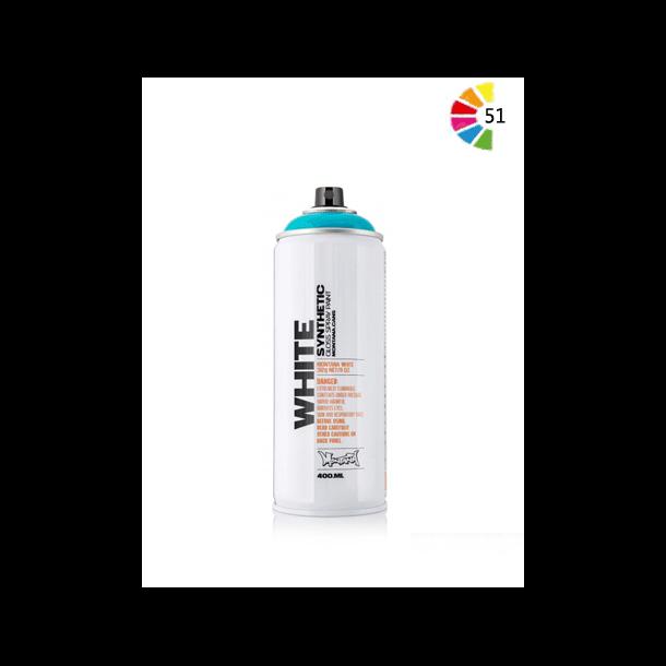 Montana White Spraymaling - 400ml