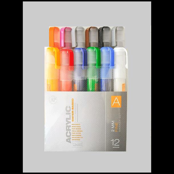 Montana acrylic marker 12er set A