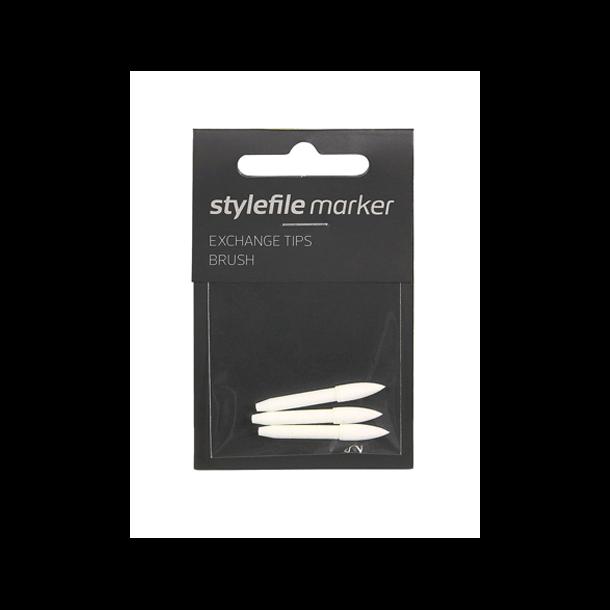 Stylefile marker tip 3 x Brush